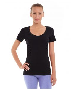 Juliana Short-Sleeve Tee-XL-Black